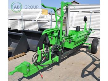 Inter-Tech Selbstladende Ballenwickler/Self loading bale wraper - معدة تغليف البالات