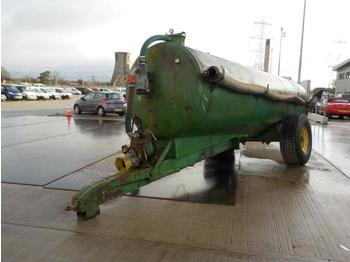Single Axle Drawbar Slurry Tanker, PTO Driven Pump - المقطورة الزراعية