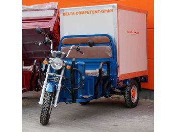 Unused Delta Electric Carrier Transport Tricycle, Transport Box, Tippercapacity 364 kg, 72V-45Ah-1200W (COC/Reg Docs Available) - جزازة المروج