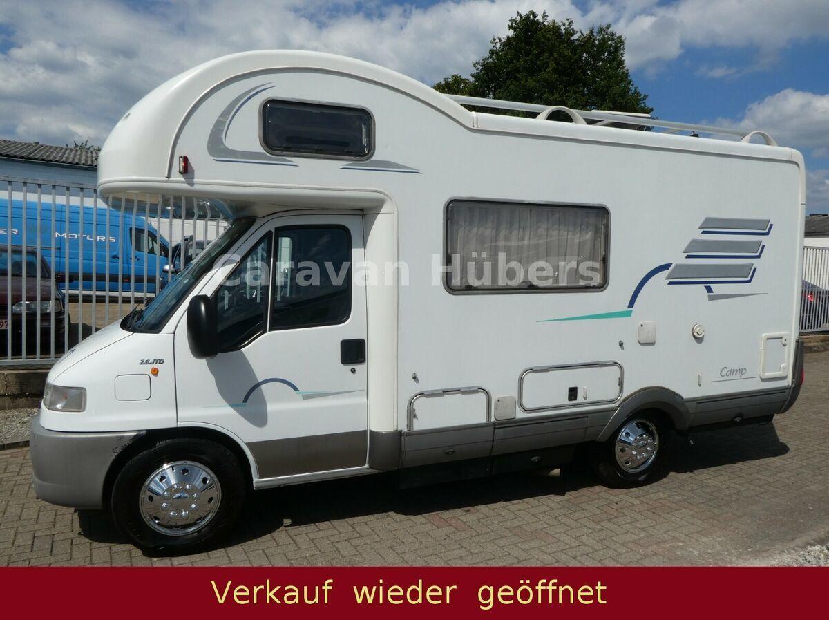 سيارة عيش HYMER / ERIBA / HYMERCAR Camp 9 - Sat/TV - Grüne Umweltplakette  — 9