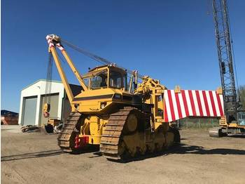 Caterpillar 589 105 t Hubkraft 8x MIETE / RENTAL Pipelayer - مجنزرة لمد الأنابيب