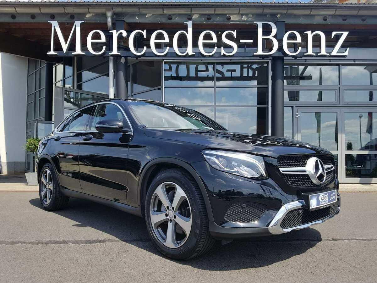 سيارة Mercedes Benz Glc 220d Coupe 4m 9g Kamera Leder Navi Shd Led 3836011