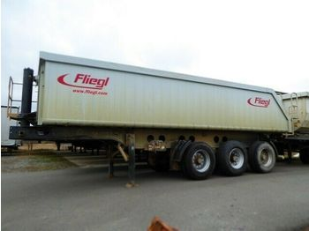 قلابة نصف مقطورة Fliegl 25 cbm Hinterkipper/ Stahl/ Alu, Lift