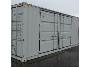 40' HQ High Cube Container c/w Two Open Side Door, One Front Door