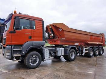 MAN TGS 18.440 + Tipper trailer 6 Units  - شاحنة جرار