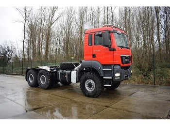 MAN TGS 40.480 BB-WW 6x6 CHASSIS-CABIN WITH ALLISON GEARBOX - شاحنة جرار