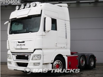 MAN TGX 26.480 XXL 6X2 Manual Liftachse Standklima Euro 4 - شاحنة جرار