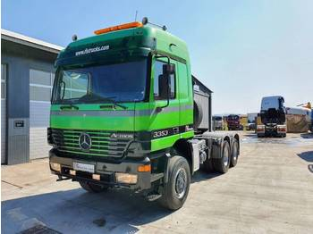Mercedes Benz ACTROS 3353 AS 6x6 tractor head - SPRING - شاحنة جرار