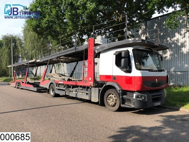 شاحنة جرار Renault Premium 450 Dxi Retarder Airco Car Transporter Euro 4 Combi 3833494
