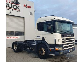 SCANIA P114. 340, Steel/ Air, Manual - شاحنة جرار