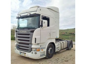 SCANIA R 420 left hand drive manual RETARDER CR19 - شاحنة جرار