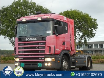 Scania R124.400 cr19 manual - شاحنة جرار