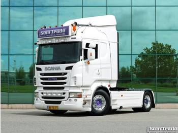 Scania R 420 HIGHLINE RETARDER 2 X TANKS TOP CONDITION - شاحنة جرار