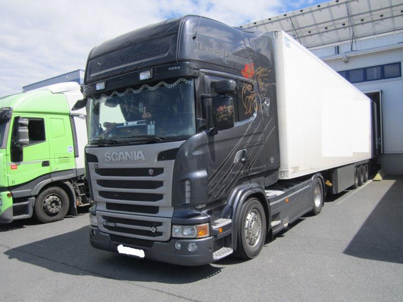 Scania R 620 La4x2 Euro 5 Retarder Dark Diamond Edit شاحنة جرار بيع شاحنة جرار Scania R 620 La4x2 Euro 5 Retarder Dark Diamond Edit Truck1 Id 2024587