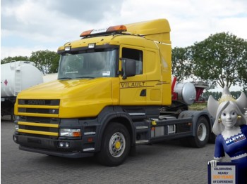 Scania T164.580 MANUAL GEARBOX,HUB R - شاحنة جرار
