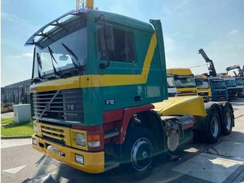 Volvo F12 6X4 MANUAL FULL STEEL EURO 2  - شاحنة جرار