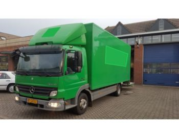 Mercedes Benz Atego 1018 - بصندوق مغلق شاحنة