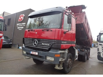 Mercedes-Benz Actros 3340 6x6 manual - قلابات
